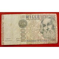 Италия. 1000 лир.