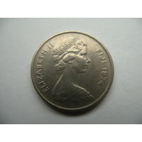 5 центов 1971 Фиджи
