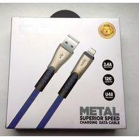Новый USB кабель для iPhone Xs Max Xr X 8 7 6 6s сплав синхронизации данных кабель для быстрой зарядки для iPhone зарядное устройство кабель для передачи данных