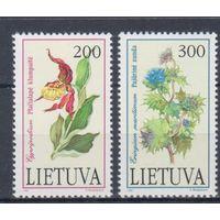 [1100] Литва 1992.Флора.Цветы.