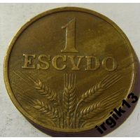 1 эскудо 1979 год Португалия