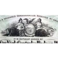 New York Central & Hudson River Railroad Company, 1892 год