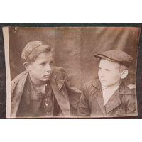 Фото подростков 1930-х. 7х11.см