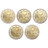 Германия 2 евро 2013 Баден-Вюртемберг (A,D,F,G,J)