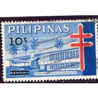 Филиппины. Надпечатка 10 на 6+5