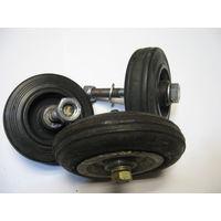 Комплект из 3-х колес для тележки или др.