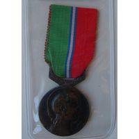 Франция.Медаль Всеобщий союз торговли и промышленности.