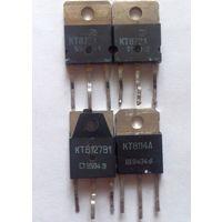 Транзисторы КТ872А, КТ8114А, КТ8127В1