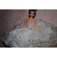 """Продам новое ПЛАТЬЕ для куклы Барби: """"ШОПЕНИАНА"""" - машинный самошив, сидит весьма аккуратно. Сама кукла, как и её головной убор в стоимость не входят. Пересыл по почте платный!"""
