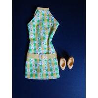 Платье и туфли для Барби,  Pretty in Plaid 1998