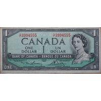 Канада, 1 доллар 1954 год