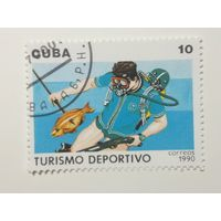 Куба 1990. Туризм. Спорт.