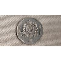 Марокко 2 дирхама 2002 /Xx