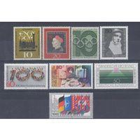 [1220] Германия. 8 чистых марок.(N5)