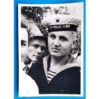 Фото моряка Северного флота. 8х11 см.