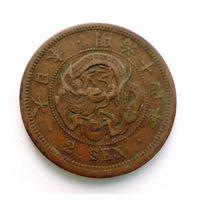 Япония 2 сен 1881 Дракон