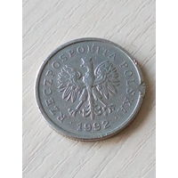 Польша 1 злотый 1992г.