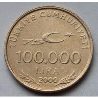 Турция 100.000 лир, 2000 г.