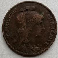 Франция 10 сантим 1908
