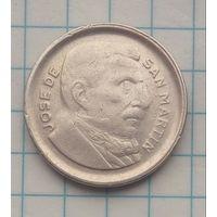 Аргентина 10 сентавос 1954г.