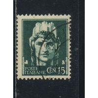 Италия Кор 1929 Вып Империя Символ Стандарт #302х