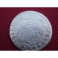 Орт 1663 г.  Johann Casimir 1649-1668 (Crown) . Не частый ! Цена снижена !!!