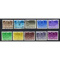 Нидерланды. 1976-1982. Стандарт. Серия 10 марок