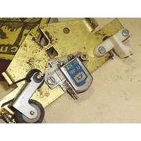 Плата протяга ленты с головкой от кассетного магнитофона