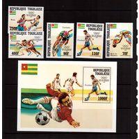 Того-1984,(Мих.1746-1750,Бл.239) ** , Спорт,ОИ-1984