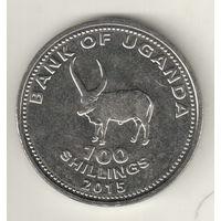 Уганда 100 шиллинг 2012