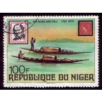 1 марка 1979 год Нигер Хилл 663