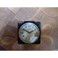 Часы, будильник СЛАВА.