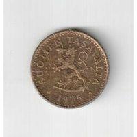 10 пенни 1975 года Финляндии