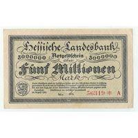 Германия, 5 миллионов марок 1923 год.