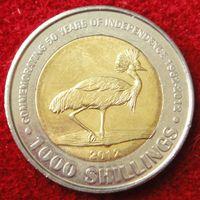 6810:  1000 шиллингов 2012 Уганда