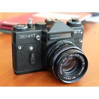 Фотоаппарат Зенит ЕТ + МС Гелиос 44М-6