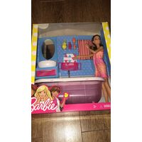 Барби с ванной комнатой