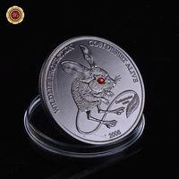 Монголия 500 тугриков 2006г. Тушканчик. стразы. распродажа