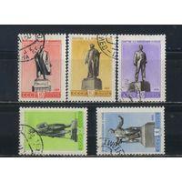 СССР 1959 Памятники Ленин Репин Маяковский Горький Чайковский #2234-6,2238-9