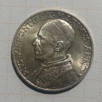 Ватикан 5 лир 1939г