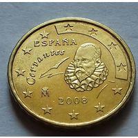 10 евроцентов, Испания 2008 г., AU
