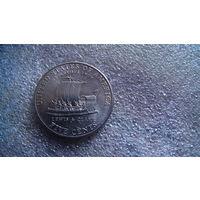 США ,5 центов 2004г. D  Лодка. распродажа