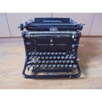 """Печатная машинка """" CONTINENTAL"""" Германия 20-е годы."""