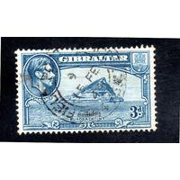 Гибралтар.111.Europa Point. Серия: Король Георг VI и пейзажи 1938-1951.