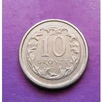 10 грошей 2001 Польша #02