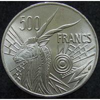 Центр. Африка 500 франков 1976 E (391)