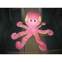 Забавный осьминог. Мягкая игрушка.