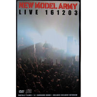 New Model Army – Live 161203 (DVD-9 + CD)