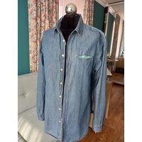 Рубашка джинсовая 46-48 р