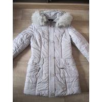 Зимнее пальто 44-46 размера в отличном состоянии.